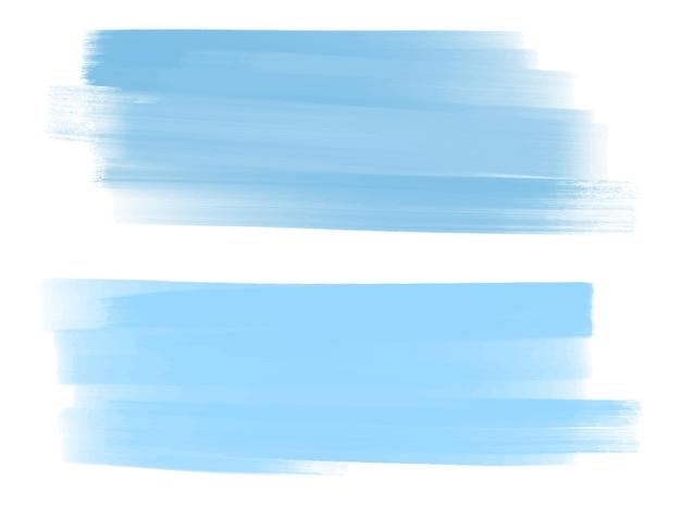 Grunge farbe tinte strichsatz