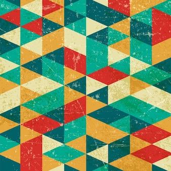 Grunge geometrischer hintergrund