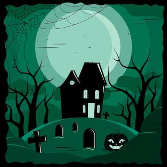 Grunge halloween tapete