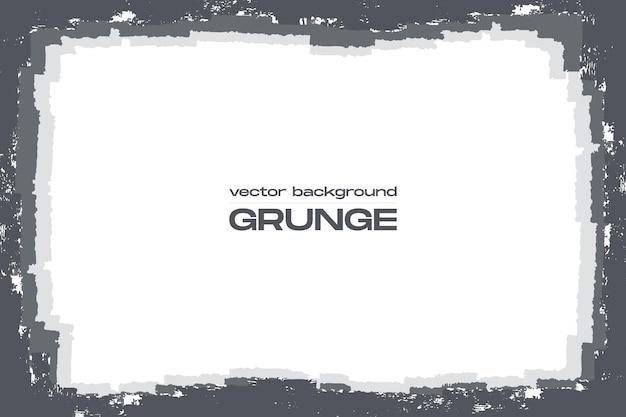 Grunge-hintergrund mit groben rändern