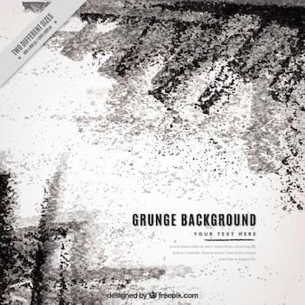 Grunge-hintergrund mit schwarzen flecken