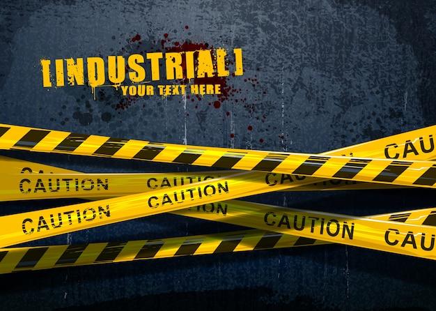 Grunge industriellen hintergrund