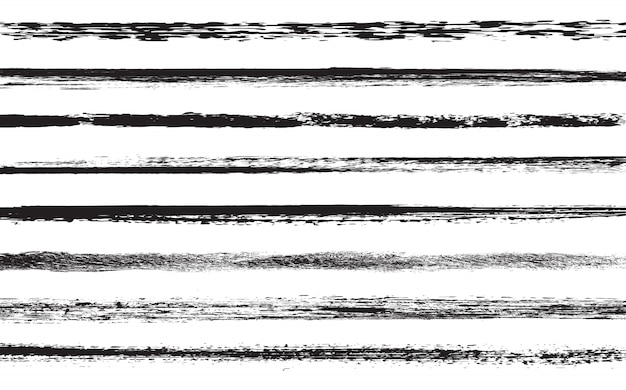 Grunge malen linien