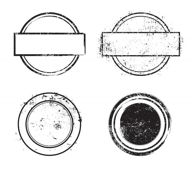 Grunge notleidenden briefmarken