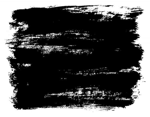 Grunge pinselstrich