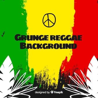 Grunge reggae-stil hintergrund