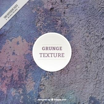Grunge-textur der flockige wand