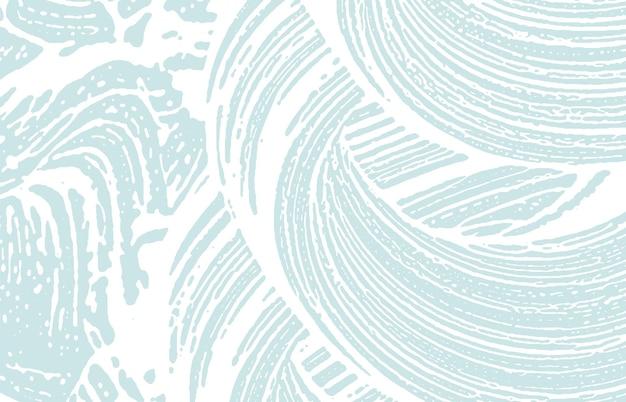 Grunge-textur. not blaue grobe spur. klassischer hintergrund. lärm schmutzige grunge-textur. atemberaubende künstlerische oberfläche. vektor-illustration.