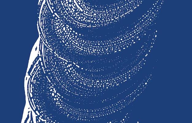 Grunge-textur. not indigo grobe spur. energetischer hintergrund. lärm schmutzige grunge-textur. gut aussehende künstlerische oberfläche. vektor-illustration.