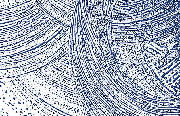 Grunge-textur. not indigo grobe spur. zauberhafter hintergrund. lärm schmutzige grunge-textur. coole künstlerische oberfläche. vektor-illustration.