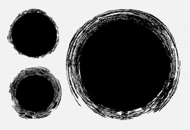 Grunge texturierte stempel