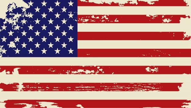 Grunge usa flagge