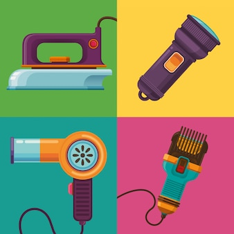 Gruppe von elektrischen objekten