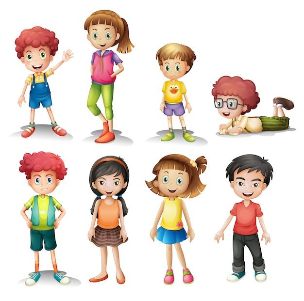 Gruppe von kindern
