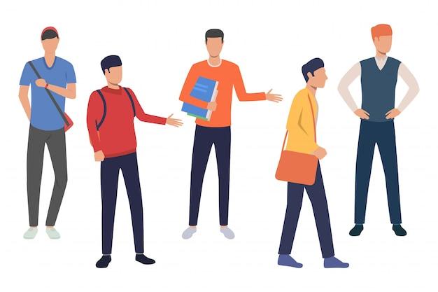 Gruppe von studenten der softwaretechnik