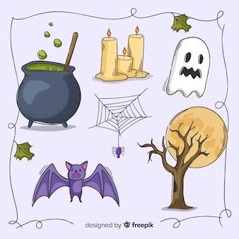 Gruselige dekoration für halloween