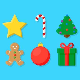 Gruselige Weihnachtsobjekte