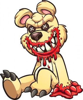 Gruseliger teddy