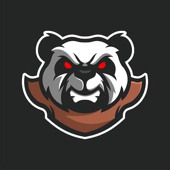 Gruseliges skelett maskottchen e-sport logo charakter logo