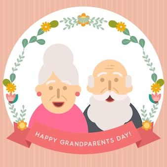 Gruß des großeltern-tages