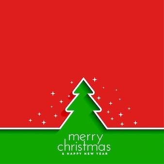 Grußkarte der frohen weihnachten und des guten rutsch ins neue jahr Kostenlosen Vektoren