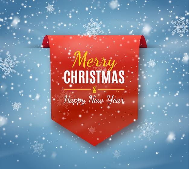 Grußkarte der frohen weihnachten und des guten rutsch ins neue jahr