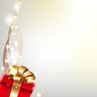 Grußkarte mit geschenkbox,