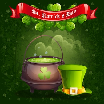Grußkarte zum saint patricks day