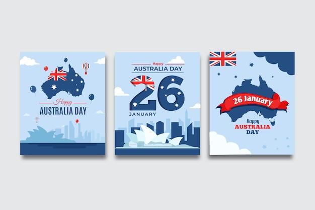 Grußkarten australien tagesereignis