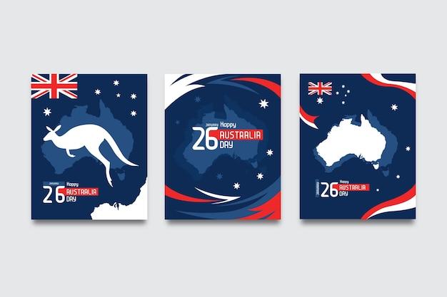 Grußkarten für australien tag
