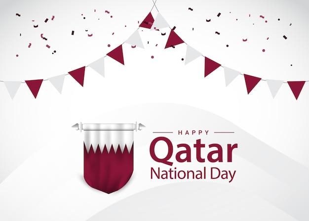 Grußkarten zum nationalfeiertag in katar