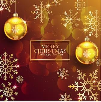Grußplakathintergrund der frohen weihnachten