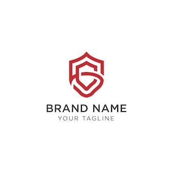 Gs schild logo design