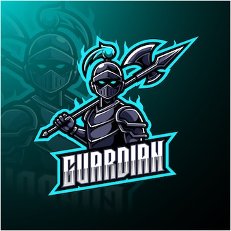 Guardian esports maskottchen-logo