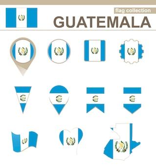 Guatemala flaggenkollektion, 12 versionen
