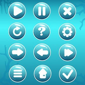 Gui asset von nautical buttons