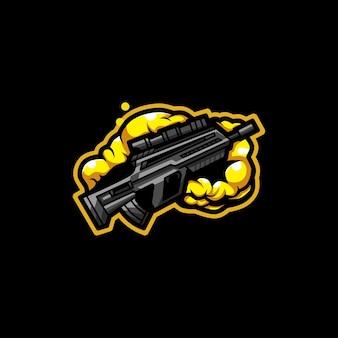 Gun cloud logo