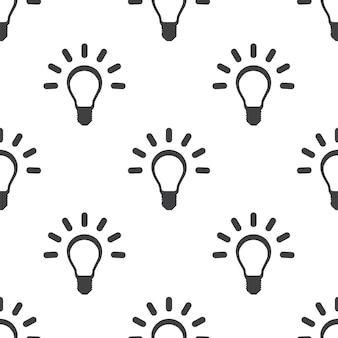 Gute idee, nahtloses vektormuster, bearbeitbar kann für webseitenhintergründe verwendet werden, musterfüllungen