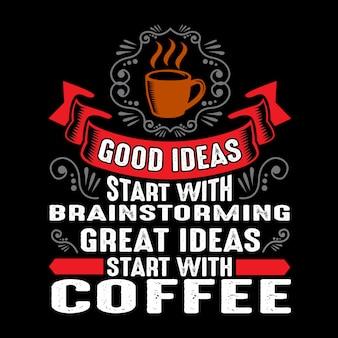Gute ideen beginnen mit brainstorming