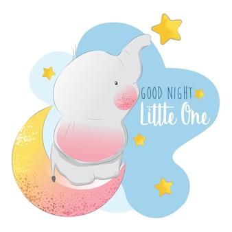 Gute nacht kleiner elefant