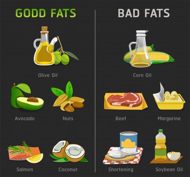 Gute und schlechte fette zum kochen