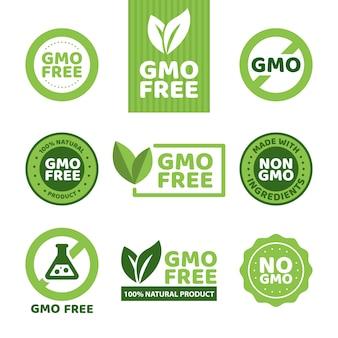 Gvo-freie embleme