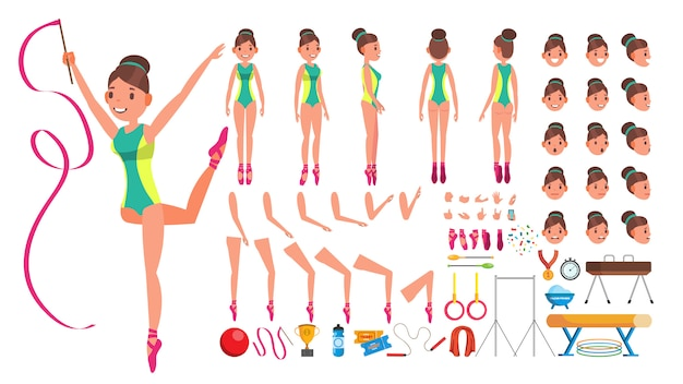 Gymnastik weiblich