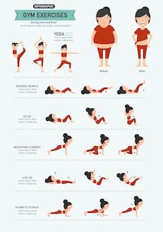 Gymnastikübungen