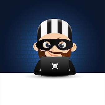 Hacker und dieb