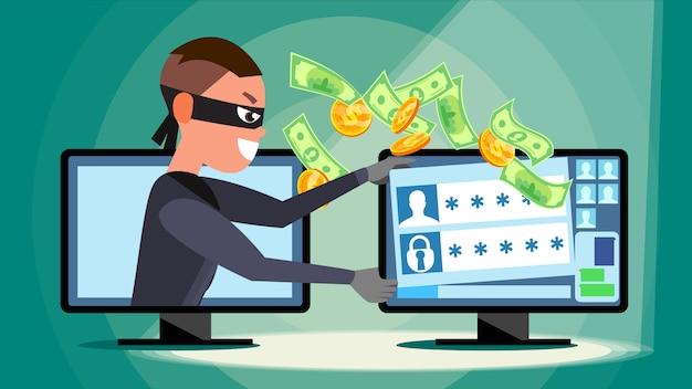 Hacking-konzept