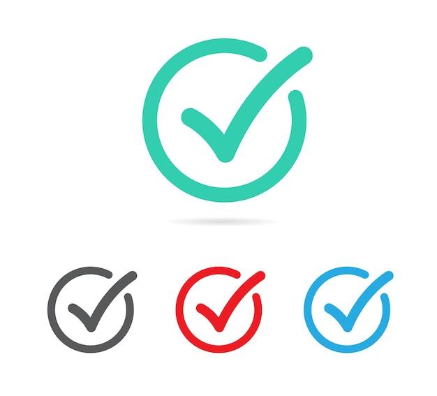 Häkchen gesetzt checkliste ankreuzen