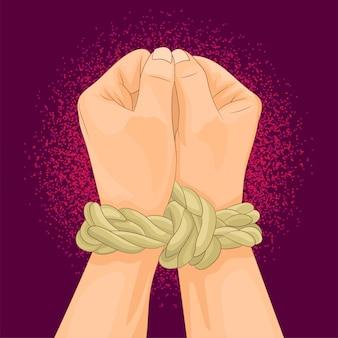 Hände binden