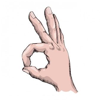 Hände geste