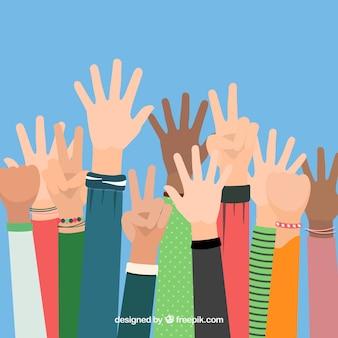 Hände hoch!